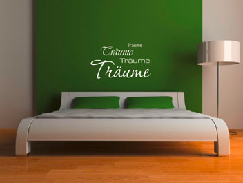 schlafzimmer wandsticker versch nerungen innendekorationen. Black Bedroom Furniture Sets. Home Design Ideas
