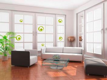 bilder wohnzimmer wiederabl sbar wandsticker wandtattoo innendekorationen. Black Bedroom Furniture Sets. Home Design Ideas